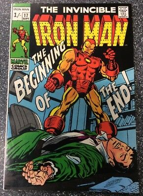 Invincible Iron Man #17 (1969) First Appearance Of Madame Masque