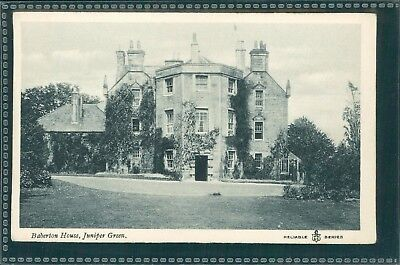 Barberton House, Juniper Green, Midlothian, C1920, Printed.