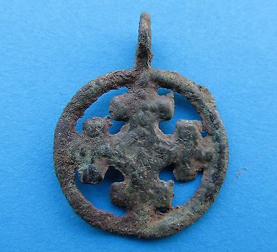 Ancient Viking Bronze Pendant - Kievan Rus.