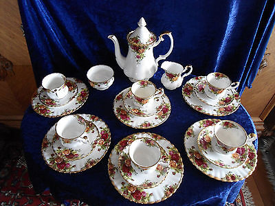 Royal Albert Old Country Roses Service 6 Pers. 21-teilig