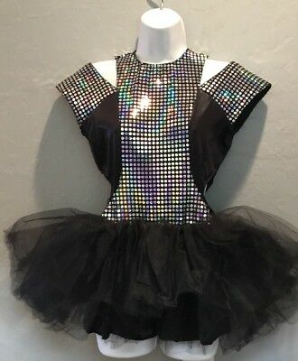 Costume Gallery Black Ballet Tutu Dance Costume Adult Large Solo
