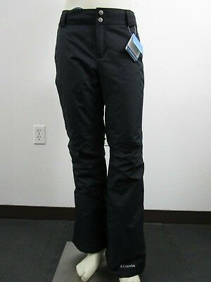 Womens Columbia Arctic Trip Insulated Waterproof Ski Snow Winter Pants Black