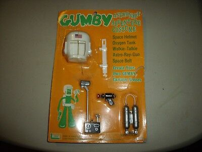 Vintage 1965 ASTRONAUT Adventure Outfit for GUMBY in Package! HTF