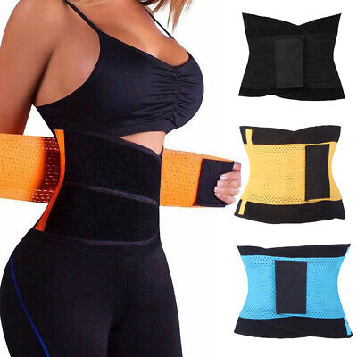 Slimming Waist Trainer Cincher Tummy Body Shaper Corset Women Belly Girdle Belt