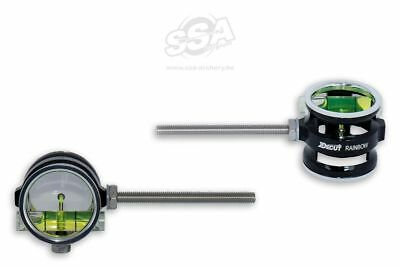 Decut Scope Rainbow 30mm RH-LH  1,0 Vergrößerung Fiber Pin Compound Bogen 10/32