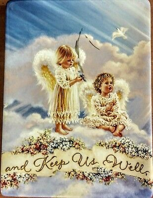 """and Keep Us Well"" Bradford Exchange Plate - Bless Our Home Series - 8""T x 6""W"