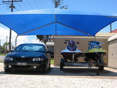 Double Quick Shade - Shade Shelter  - 6000mm W x 6000mm L x 2500mm H W50/C2