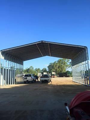 Industrial Shed Steel Building - 9.0m W x 6.0m L x 3.2m H  W41/N3 Wind Rating