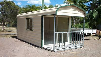 Site Office - Mobile Room - Teenage Retreat- 3000mm W x 6000mm L x 2800mm H