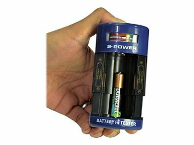 2-Power BTH0003A Black,Blue battery tester - battery testers (50 mm, 40 (a2R)