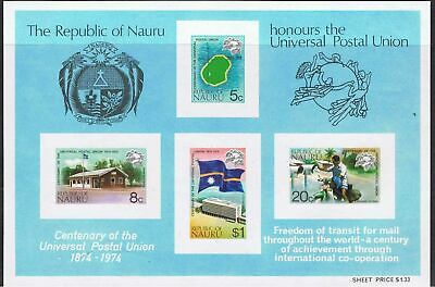 Nauru Five Souvenir Sheets