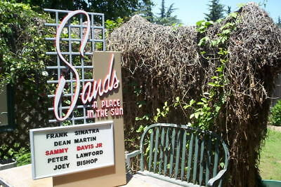 Sands Casino Sign good ol days vintage look, Frank Sinatra, Sammy Davis Jr