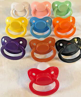 Adult Sized Silicon Pacifier Dummy Adult Baby