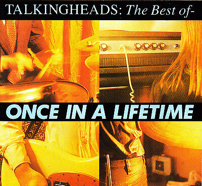 Talking Heads Once In A Lifetime CD