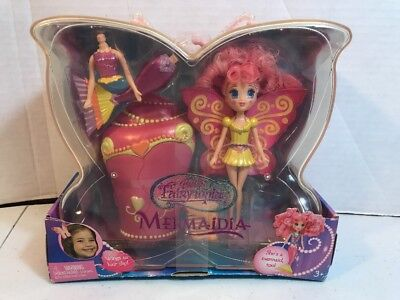 BARBIE FAIRYTOPIA MERMAIDIA PINK & YELLOW NEw