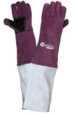 Welding Gloves - Left Hand with extended cuffs (6 pairs) WGP02