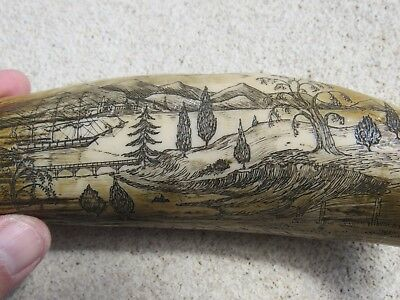 SCRIMSHAW THE CULTIVATOR Replica #15