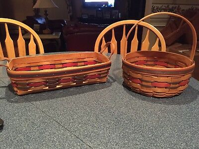 Longaberger: Crisco American Baking Celebration (baking basket) & Cookie Basket