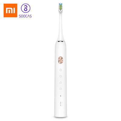 Xiaomi Rechargeable Sonic Electric Toothbrush Bluetooth White SOOCAS X3 NEW GOOD