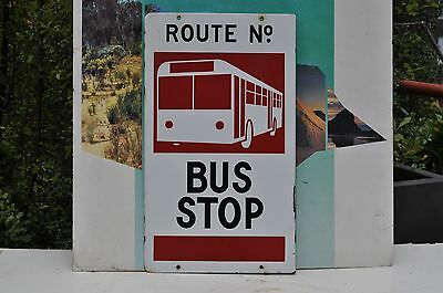 MMTB. Bus stop sign