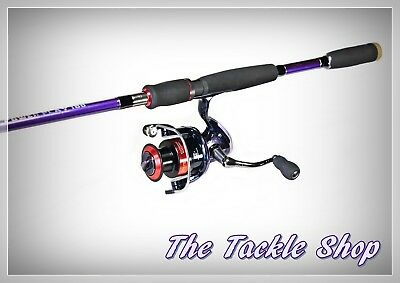 6Ft 4-6kg 2Pc CARBON COMBO - BALLISTIC POWERPLAY ROD + CATALYST EXT4000 9+1 REEL