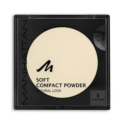 Manhattan Soft Compact Powder, 0, transparent