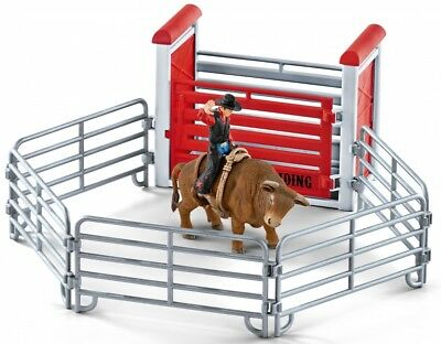 Schleich 41419 - Rodeo Bull riding mit Cowboy