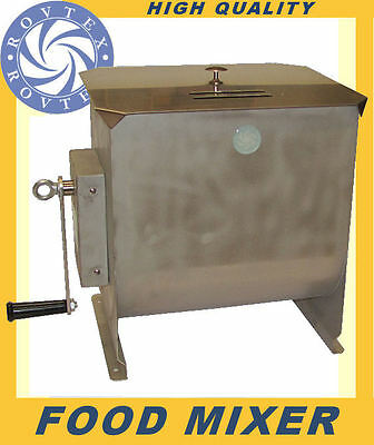 Food Mixer 20L ROVTEX | Manual or Electric Options
