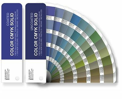 Set COLOR CMYK SOLID - Color Guide Pantone for Digital Print - Coated/Uncoated