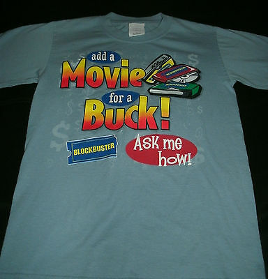 Blockbuster Video Vintage Worker T- Shirt *size Small*