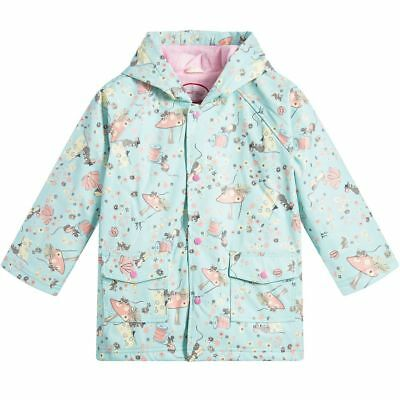 Powell Craft Girls Raincoat.NEW. Mouse Print. 1-7 Years.Blue