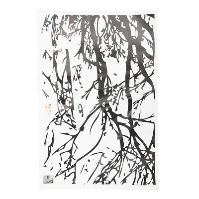 Black Tree Branch PVC Removable Room Art Mural Wall Sticker Decal  BF
