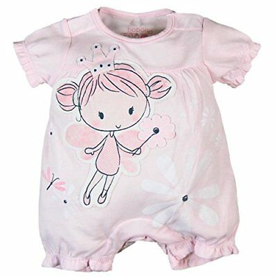 Boboli Knit Play Suit For Baby Girl, Body Bimbo, Rosa (Rose 3000), 6 mesi (B9J)