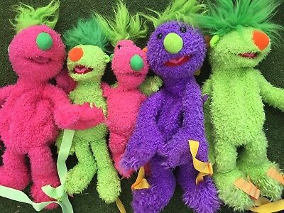 HOOBS MADE BY TOMY BY JIM HENSON SOFT  TALKING TOYS and backpacks
