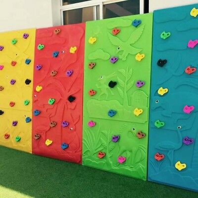 Children Climbing Wall Stones Holds Starter Kit Bolt On Grab Holds Stones 10pcs
