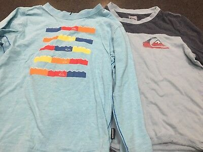 2 x Boys Long Sleeved Tops, Size 4 Quiksilver