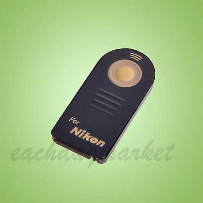 Wireless IR Infrared Remote Control ML-L3 for Nikon D3000 D3200 D3300 D3400 D90