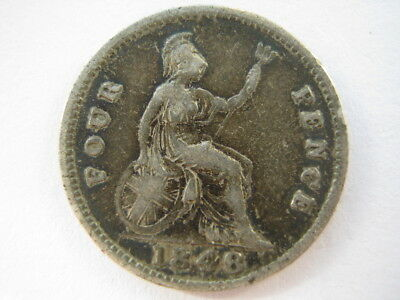 1848/6 Groat or Fourpence F