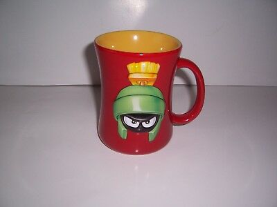 Looney Tunes Marvin The Martian 1999 3D Mug Warner Brothers By Xpres