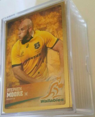 2016 Rugby Union Gold Parallel Set 100 Cards