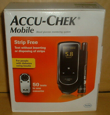 Accu-Chek Mobile  System With 50 Test Cassette Brand New Boxed