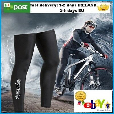 Cycling Bike Bicycle UV Sun Protection Legs Warmers Sleeve Windproof size XL