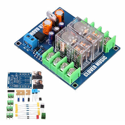 12-24V Dual Relay 7812+UPC1237 Speaker Protection Board Module DIY Kit B4F2