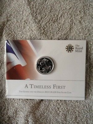 Royal Mint A Time First 2013 £20 Fine Silver Coin