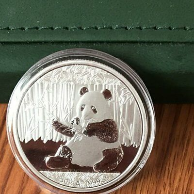 2017 Silver China Chinese Panda Coin 30 Grams