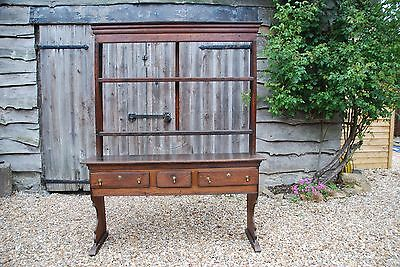"Rare 18th Century Somerset (""Bridgwater"") Elm Dresser in near original condition"