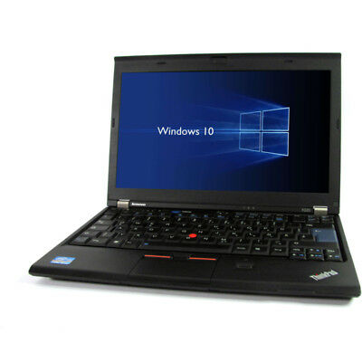 Lenovo ThinkPad X220 i5 2.4GHz 4GB 128GB SSD 1366x768 Webcam Windows 10 Pro