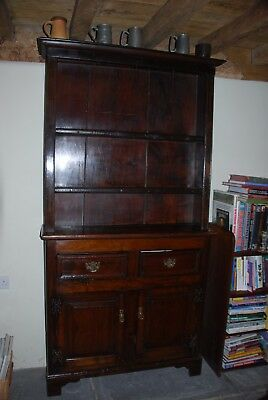 Antique Oak Dresser of small proportions in good condition.
