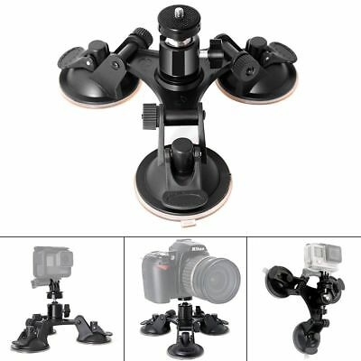Fantaseal® Camera Car Mount Camera Suction Mount Tri-cup Suction Mount DSLR Cam