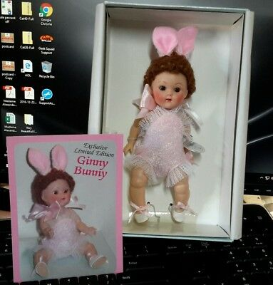 Vogue Ginny 1950's CRIB CROWD BUNNY PINK exclusive  2004 MIB LE 200 pc.